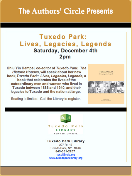 Tuxedo Park: Lives, Legacies, Legends